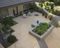 Square Concrete Patio | Houzz