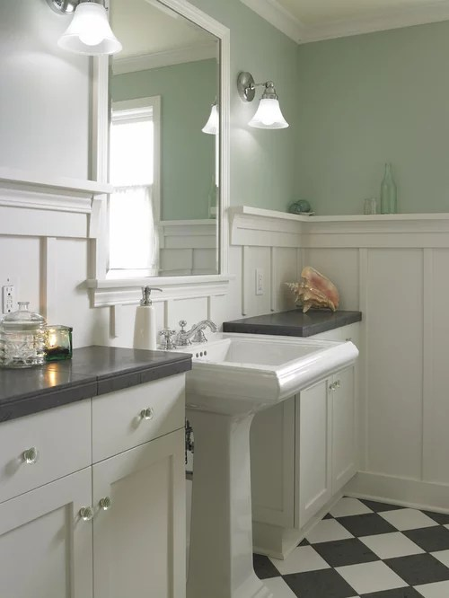 Wainscot In Bathroom Design Ideas & Remodel Pictures | Houzz