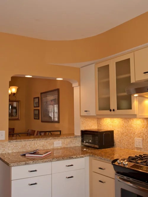 small transitional shaped eat kitchen small shaped eat kitchen design ideas remodels photos