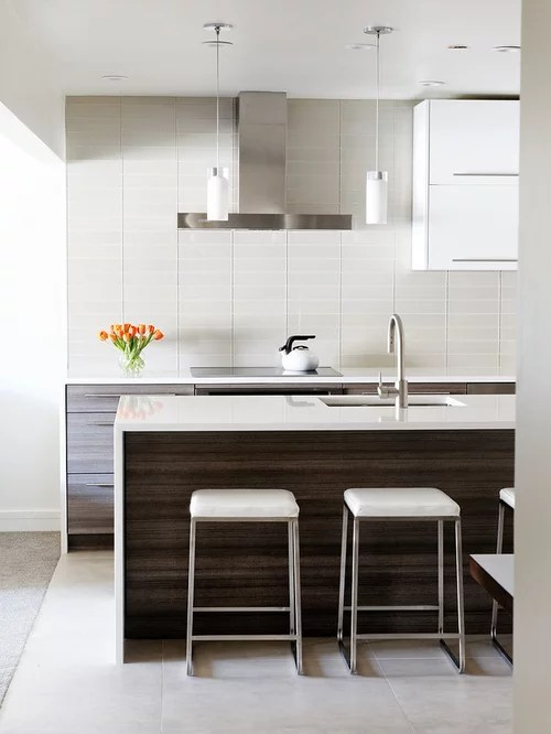 mid sized modern galley kitchen idea flat panel cabinets kitchen remodeling kitchen design kansas cityremodeling kansas city
