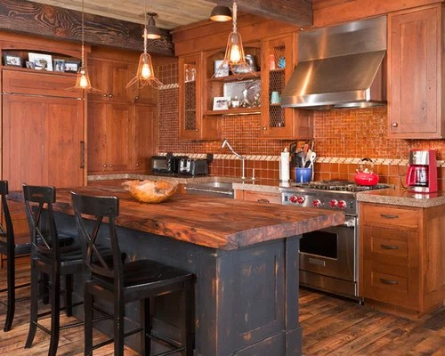 denver kitchen medium tone wood cabinets design ideas remodel rustic kitchen design ideas remodel pictures houzz