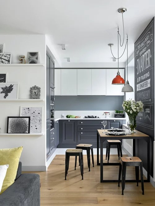 scandinavian kitchen design ideas remodel pictures houzz contemporary shaker kitchen transitional kitchen manchester uk