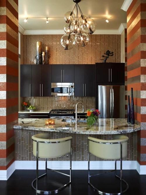single wall kitchen design ideas renovations photos granite inspiration small transitional single wall eat kitchen