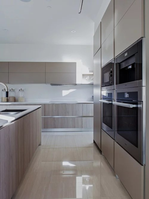 small shaped kitchen design ideas remodel pictures beige small contemporary shaped eat kitchen idea moscow flat