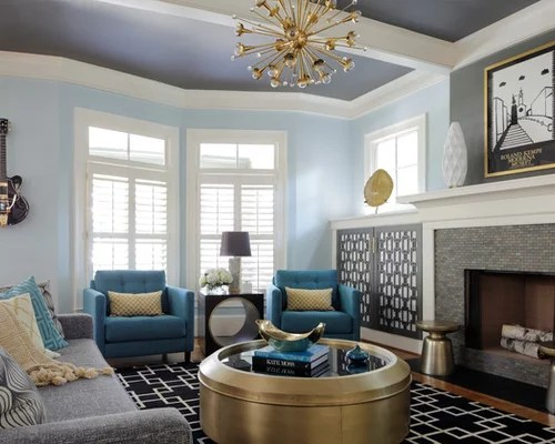 Gold Color Living Room Houzz - gray and gold living room