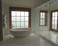 Bathroom Privacy Windows & Decorative Electronic Glass for ...