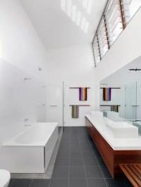 High Ceiling Bathroom | Houzz