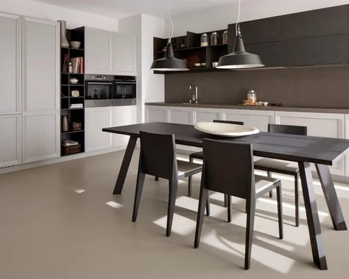 shaped eat kitchen painted wood floors design ideas small contemporary shaped eat kitchen idea moscow flat