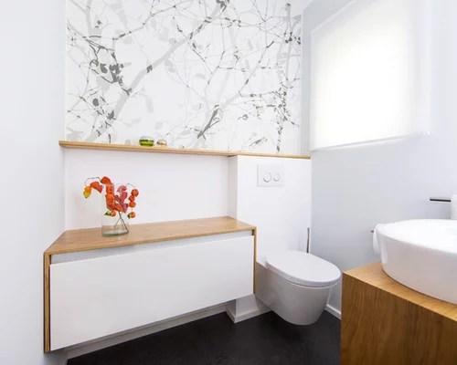 Bad mit Waschtisch aus Holz - Ideen, Design \ Bilder - designer schranke holz keramik