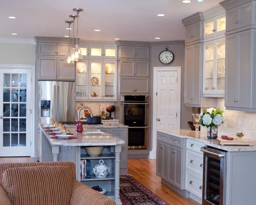 mid sized shaped shaped eat kitchen design ideas remodel inspiration small transitional shaped kitchen remodel