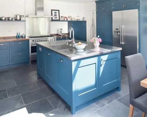 design ideas renovations photos blue cabinets slate floors kitchen cabinets recycled kitchen design ideas