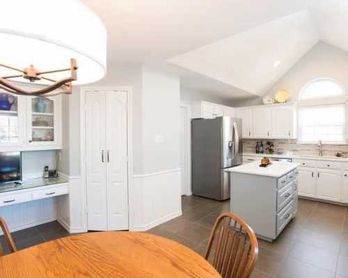 photo small transitional shaped eat kitchen dallas inspiration small transitional shaped kitchen remodel