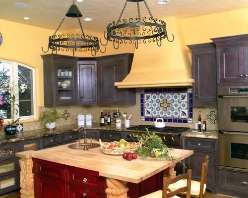 Rustic Mexican Kitchen Houzz - mexican kitchen design