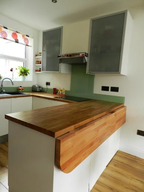 folding counter home design ideas pictures remodel decor small eat kitchen transitional home design photos