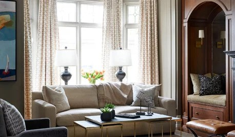 Transitional Style on Houzz Tips From the Experts - transitional style living room