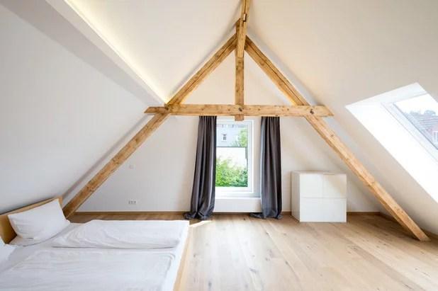 Alkoven Schlafzimmer  Schlafzimmer Mit Dachschr228;ge Gestalten 8 Tipps