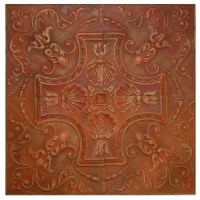 Pressed Tin Wall Plaques
