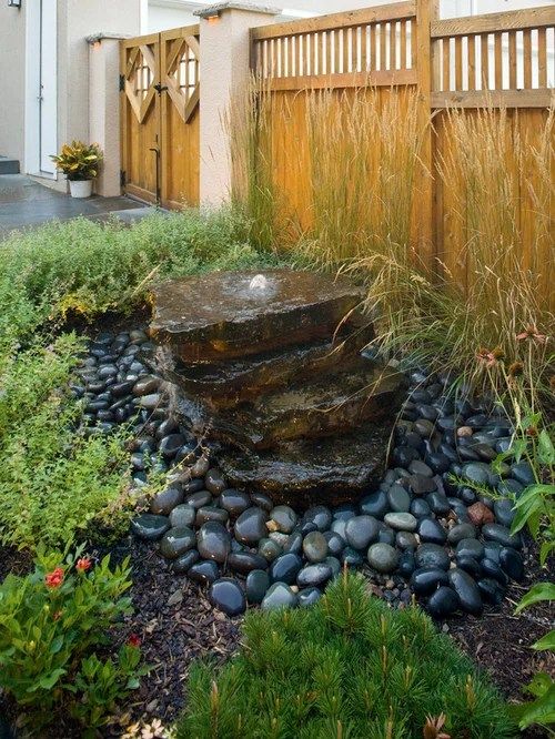 Water Features Design Ideas Pondless Water Feature | Houzz