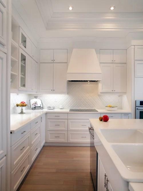 kitchen idea white cabinets white backsplash black white kitchen backsplash ideas couchable