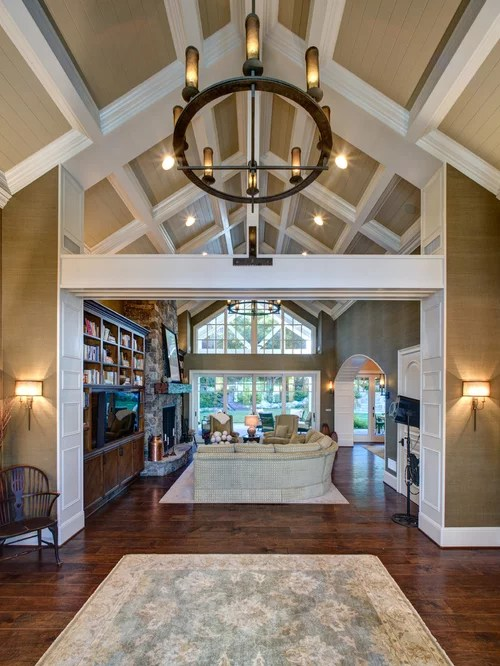 Kitchen Remodel Ideas With Vaulted Ceiling Tongue And Groove Vaulted Ceiling Design Ideas & Remodel