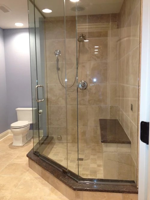 Houzz Showers Neo Angle Shower | Houzz