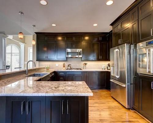 eat kitchen design ideas remodels photos dark wood cabinets small eat kitchen design photos dark wood cabinets