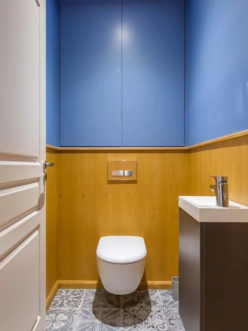 Placard Wc Suspendu | Photos Et Idées Déco De Wc Et Toilettes Avec ...