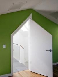 Attic Door | Houzz