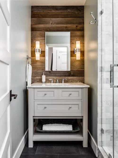 Small Rustic Bathroom Ideas, Designs \ Remodel Photos Houzz - small rustic bathroom ideas