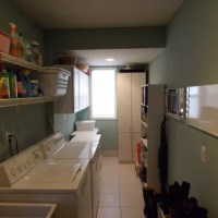 Galley Laundry Room | Houzz