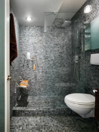 Mosaic Tile Bathroom | Houzz