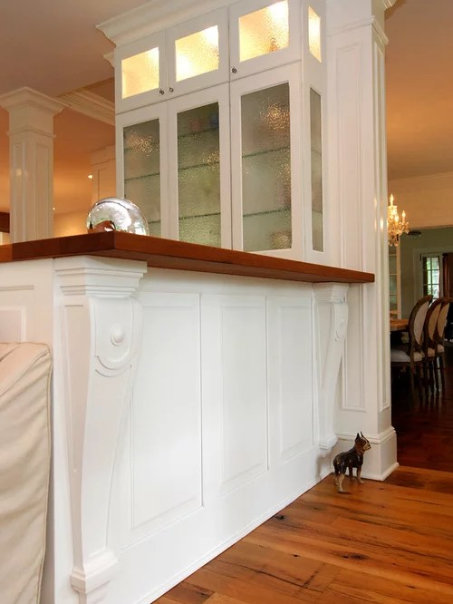 Kitchen Island With Seating On Both Sides Kitchen Island Corbels | Houzz
