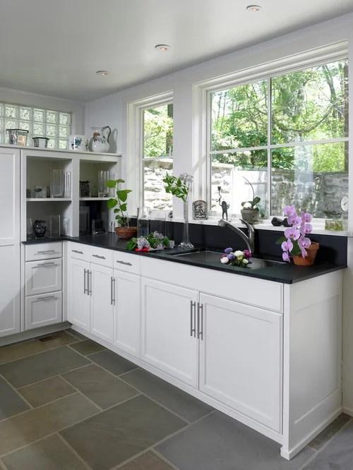 design ideas remodels photos black appliances slate floors kitchen cabinets recycled kitchen design ideas