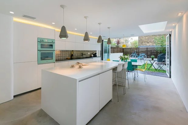 Rail Spots Plafond How To Fill The Space Above Kitchen Cabinets | Houzz