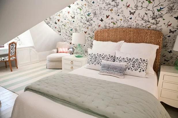 Dachschräge gestalten 11 kreative Deko-Ideen - dachschrage gestalten schlafzimmer
