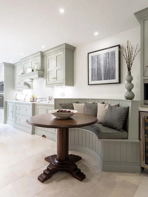 small kitchen design ideas renovations photos marble floors inspiration small transitional single wall eat kitchen