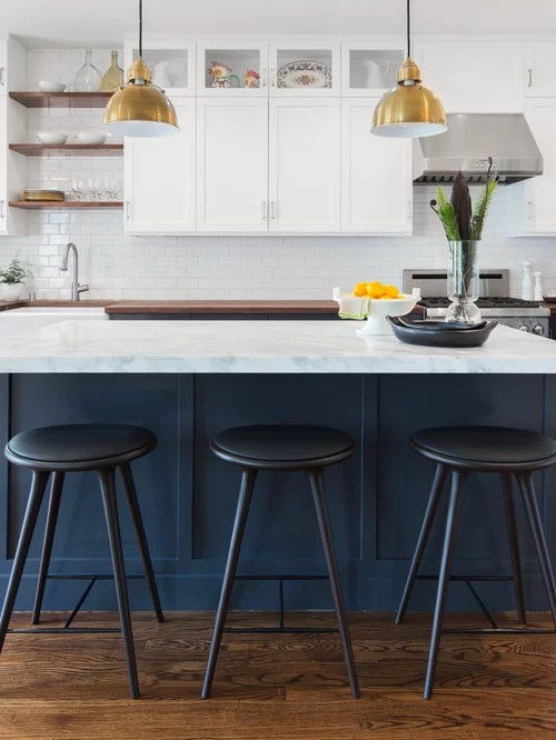 transitional kitchen design ideas remodel pictures wood inspiration small transitional single wall eat kitchen