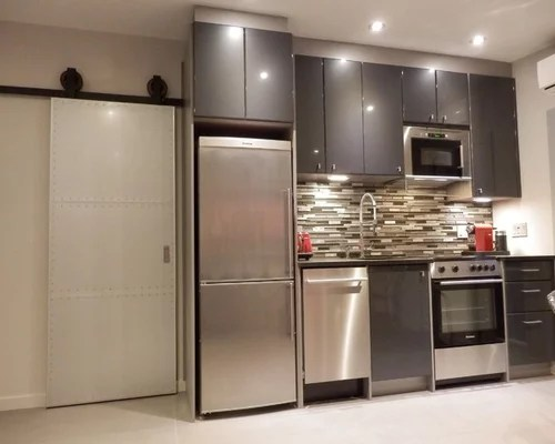 eat kitchen design ideas renovations photos grey splashback modern eat kitchen designs