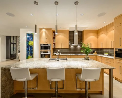 kitchen design ideas renovations photos light wood cabinets design ideas design style dining room fireplace furniture garden