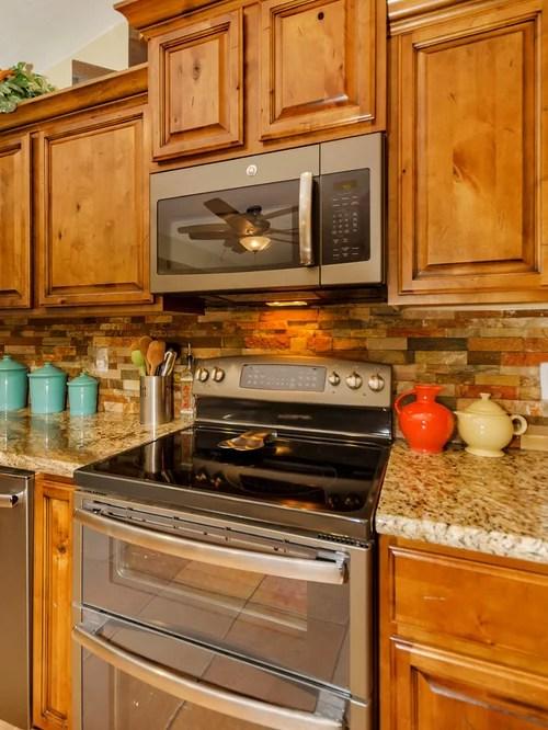 rustic kitchen design photos orange backsplash stone tile rustic kitchen backsplash tile