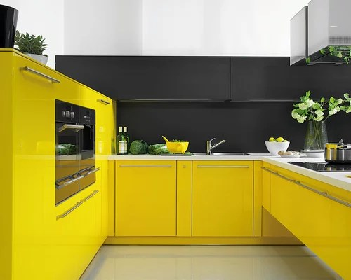 modern eat kitchen design ideas renovations photos yellow small eat kitchen design ideas renovations photos