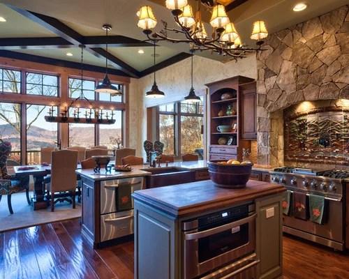 shaped kitchen rustic kitchen design photos stone tile backsplash rustic kitchen backsplash tile