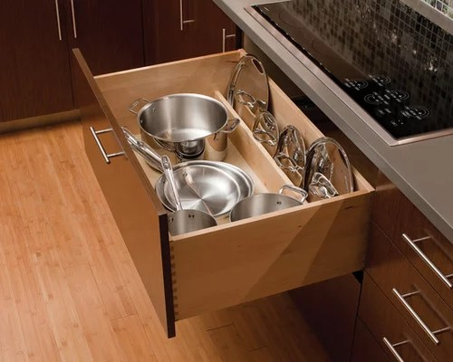 pot pan drawer home design ideas pictures remodel decor dishes organizer store lids large