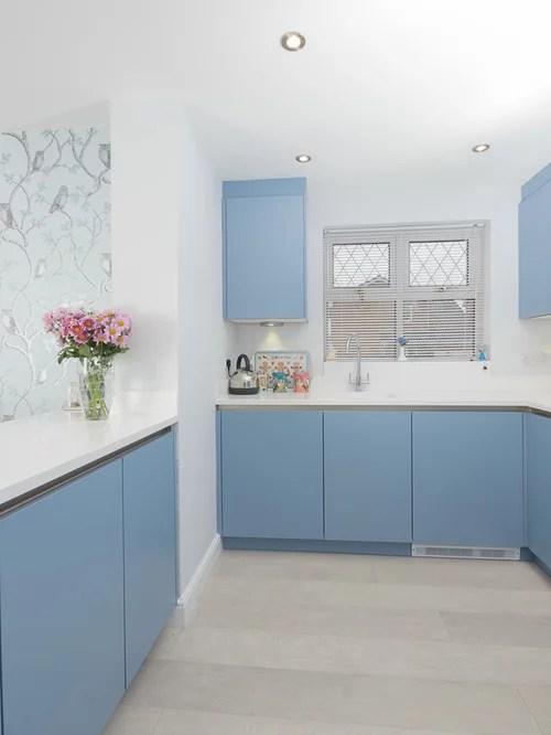 eat kitchen design photos panelled appliances linoleum small contemporary shaped eat kitchen idea moscow flat