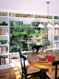 Shelves Around Windows | Houzz
