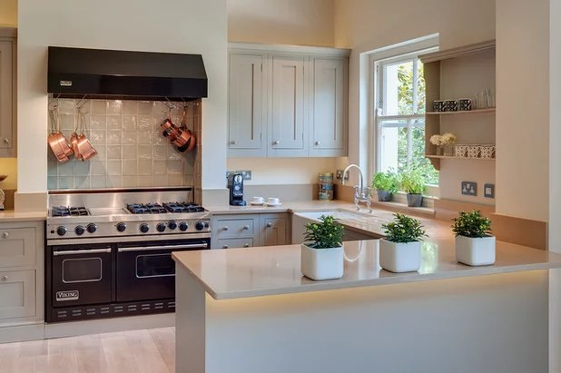 How to Design the Perfect U-Shaped Kitchen - u shaped kitchen design