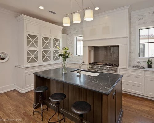 Negresco Honed Leathered Granite For Perimeter Kitchen Kitchen Negresco | Houzz