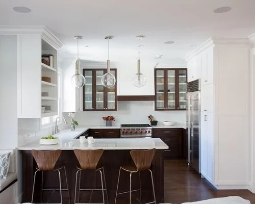 shaped kitchen ideas pictures remodel decor inspiration small transitional shaped kitchen remodel