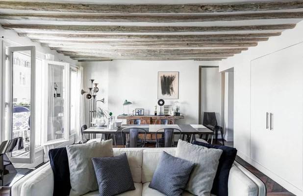 Houzzbesuch Ein Pariser Paar lebt klein aber fein auf 47 qm - esszimmer 17 qm zu klein