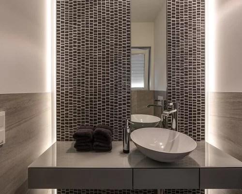 Moderne Spiegel Für Gäste Wc | Wischtechnik: Struktur Für Die Wand ...